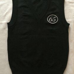 School sleeveless vest for the boy