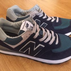 New Suede New Balance 574 Sneakers