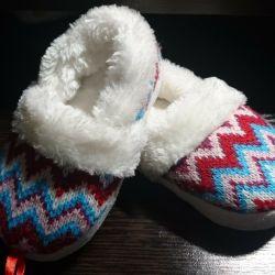 New children's slippers
