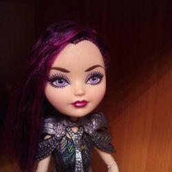 Raven Queen doll