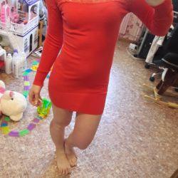 The dress is cushy
