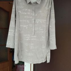 TUNICS OF LARGE SIZES. Sizes from58 to 70.
