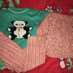 50p için sıcak bebek giysileri