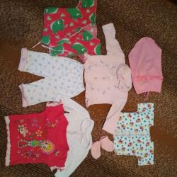 Clothes from birth to 6 months