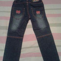 Jeans pentru 2-4 ani