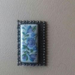 Vintage brooch (enamel)