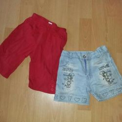 Shorts. 3-4 years