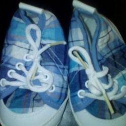 Παπούτσια για το μωρό, το πρώτο βήμα.