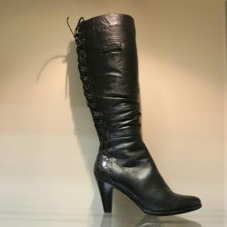 77. Winter boots p.40 leather, nat