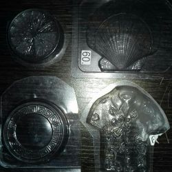 Set of molds for soap making