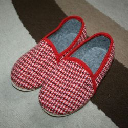 New sandal and GOST slippers