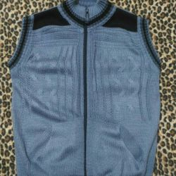 Vest with zipper