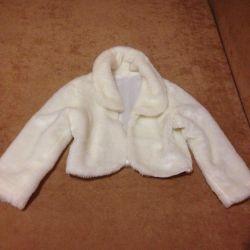 Children's fur cape
