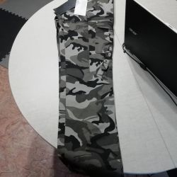 Pantaloni în stil militar. Nou !!!