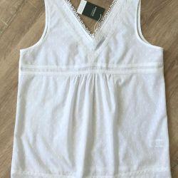New blouse-tunic Active Wear La Redoute, р.46-48