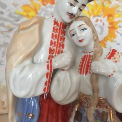 May Night figurine USSR porcelain Kiev Federal Law