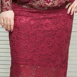Νέα φούστα guipure