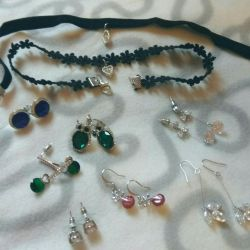 jewelry earrings pendant studs checker