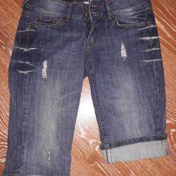 Denim breeches Mango jeans