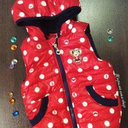 New vests 105-110 cm