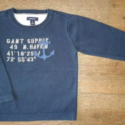 Gant blue sweater. At 86 cm. Used