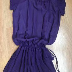 Μωβ φόρεμα της Πρωτοχρονιάς