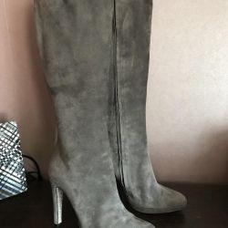 Rene caovilla 37.5. Suede boots