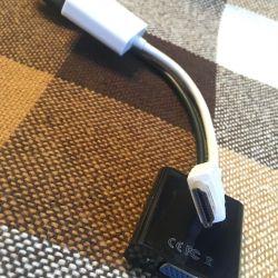 HDMI VGA переходник