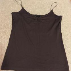T-shirt, Top linen (new) zara basic