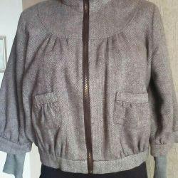 Курточка драповая