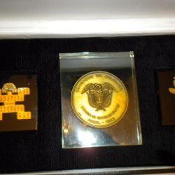 αναμνηστικό μετάλλιο του Συνεδρίου της Κολομβίας