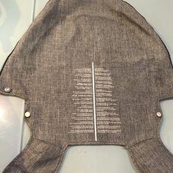 Textile strollers stokke