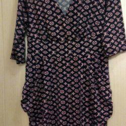 Beden için elbise ve bluz 48