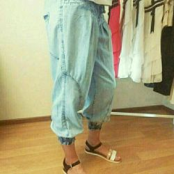 Denim Capri R.48, 50, 52
