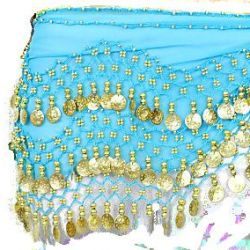 Belt for oriental dances