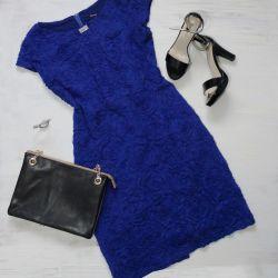 44-46 Σκούρο μπλε φόρεμα σε τέλεια κατάσταση