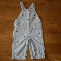 Blue corduroy jumpsuit Gymboree. BOO