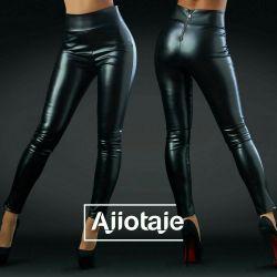 Leggings eco-leather