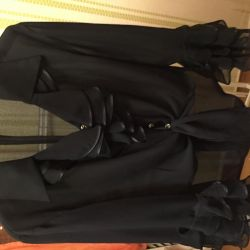 Siyah bluz bluz