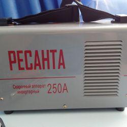 Συγκολλητική μηχανή Resanta sai 250A Νέα