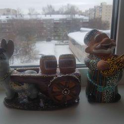 Figurines ceramic, new, single, original