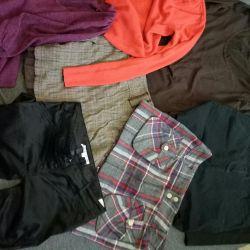 Ρούχα για το κορίτσι r. 46-48