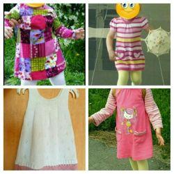 Платья от 1 года до 3 лет