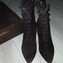 Νέες ιταλικές χειμωνιάτικες μπότες NANDO MUZI