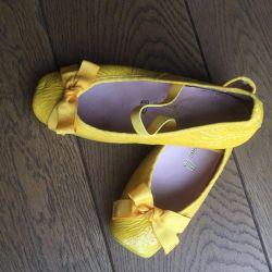 Children's shoes Ballet Shoes Pretty Ballerinas solution 28