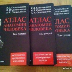 3 hacim Sinelnikov'un atlası