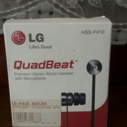 Наушники с микрофоном LG HSS-F410