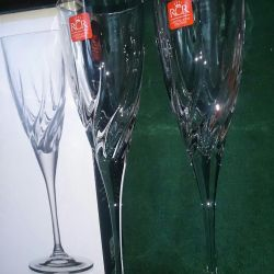 Wineglass crunch