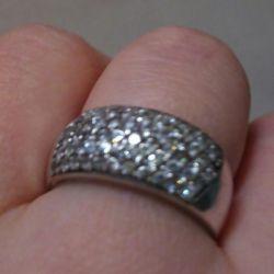 Πολύ όμορφο δαχτυλίδι (ασημί)