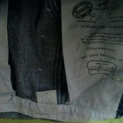 The overalls jeans size 36